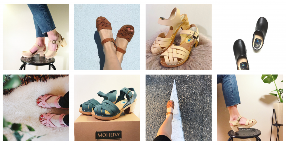 Wooden Clogs From Moheda Toffeln In Sweden Swedish