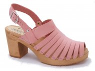 LINDA Nubuk Pale Pink - Last in Stock