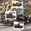 Safety shoes with steel toecap - sale!